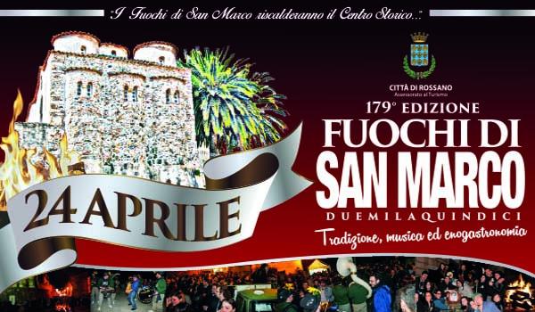 Fuochi di San Marco Rossano 24-25 aprile